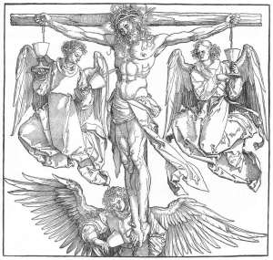 albrechtdurer_christ_on_the_cross_with_three_angels