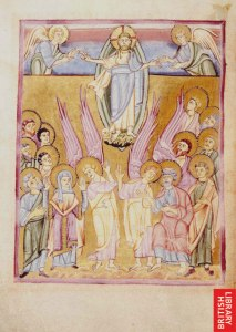 Ascension - Seeon Sacramentary-Monestary of Seeon - Bavaria - 1020-1050